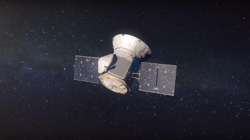 NASA's TESS Satellite Starts Looking for Exoplanet Data