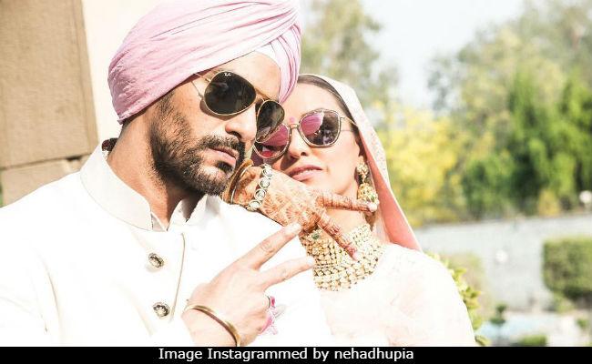 Neha Dhupia And Angad Bedi Are Posting Wedding Pics From Honeymoon