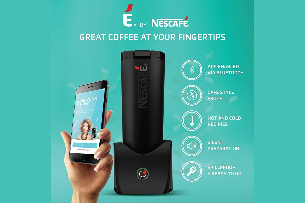 nescafe e smart personal coffee maker amazon smart coffee maker