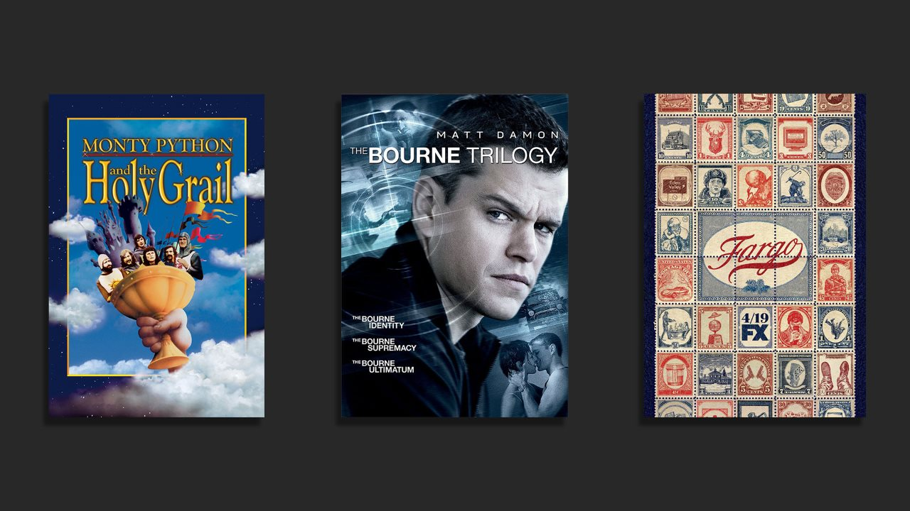 Monty Python, the Bourne Trilogy, Fargo, and More on Netflix in