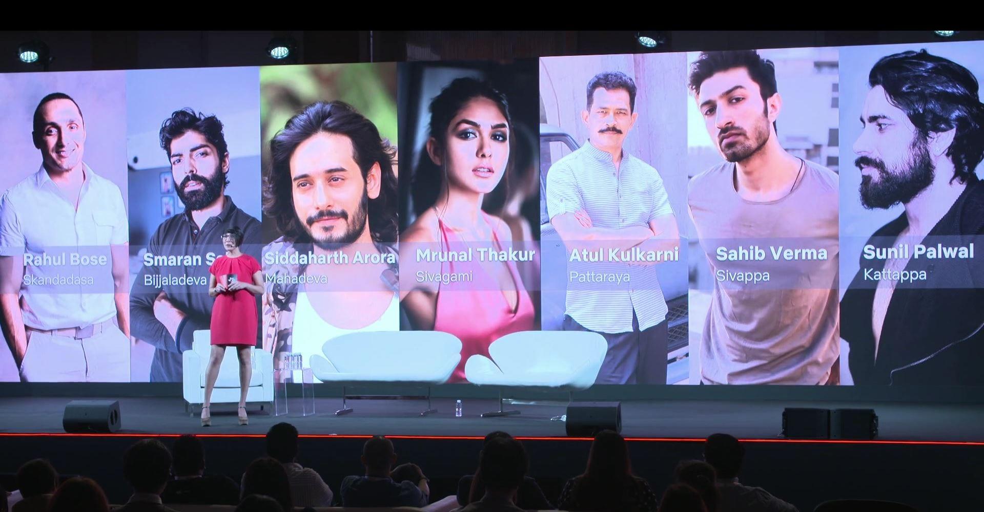 Netflix's Baahubali Casts Rahul Bose, Mrunal Thakur, Atul Kulkarni, More