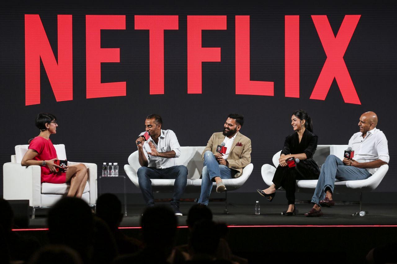 netflix baahubali deva katta praveen sattaru mrunal thakur prasad devineni Netflix Baahubali