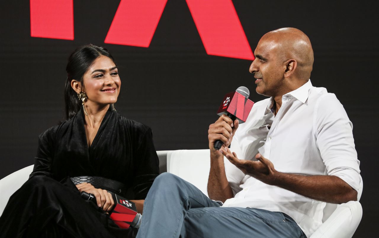 netflix baahubali mrunal thakur Prasad Devineni Netflix Baahubali