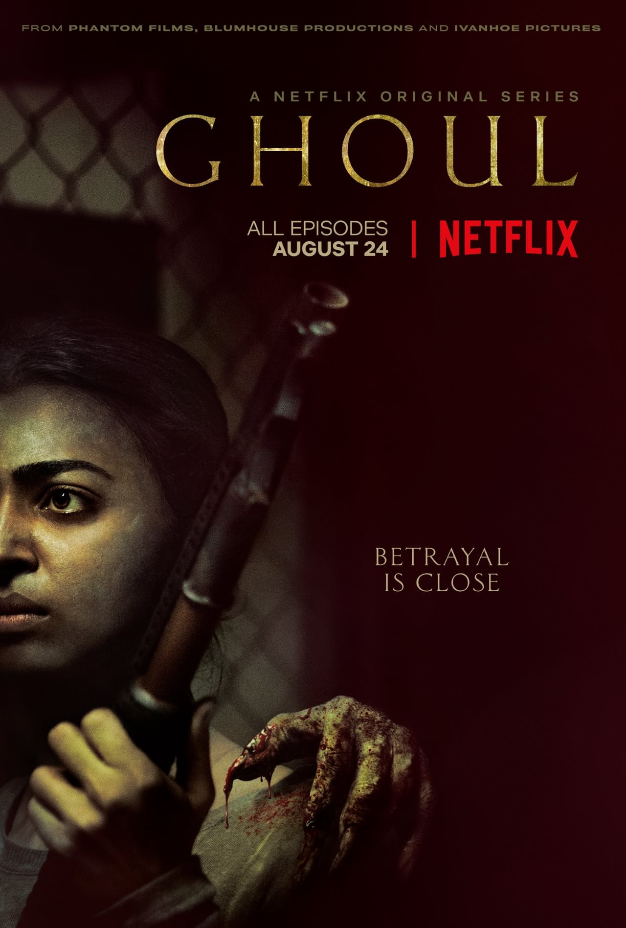 Netflix Sets Release Date for Ghoul, the Next Original