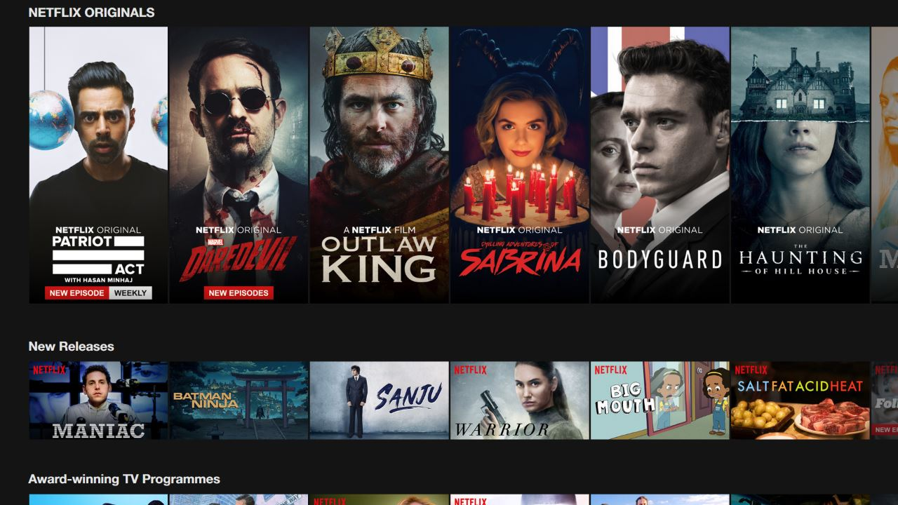netflix home Netflix website home