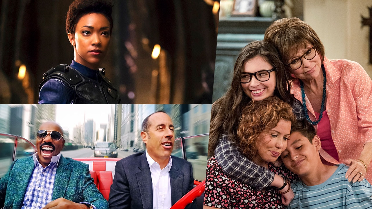 Star Trek: Discovery, Comedians in Cars Getting Coffee, One Day at a Time, and More on Netflix in January