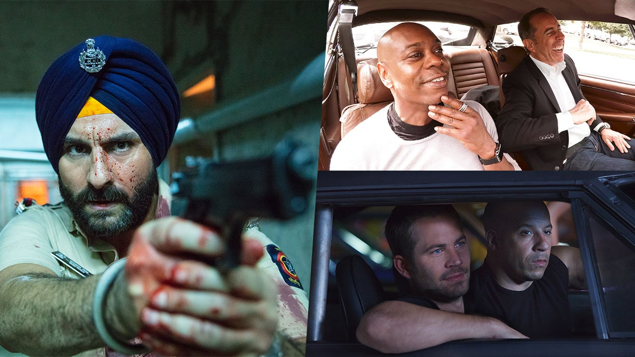 Sacred Games, Comedians in Cars Getting Coffee, and More on Netflix in July 2018