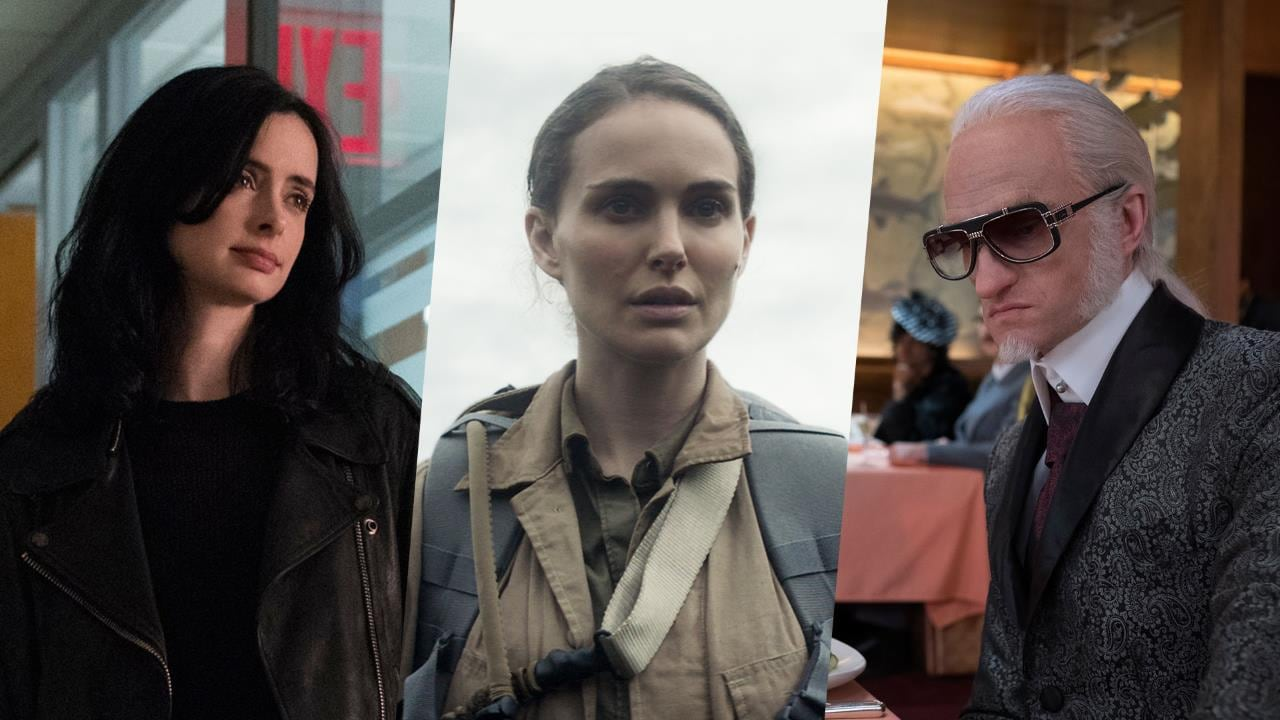 Jessica Jones, Annihilation, A Series of Unfortunate Events, and More on Netflix This March