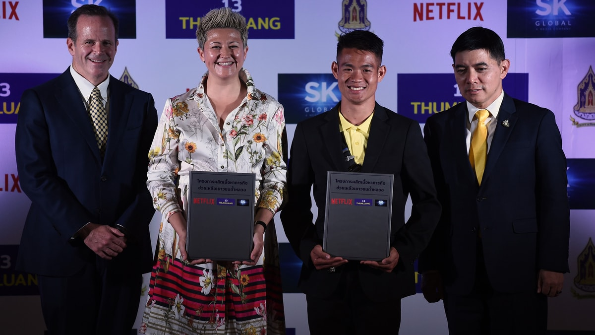 Netflix, Makers of 'Crazy Rich Asians', Team Up for Thai Cave Rescue Production