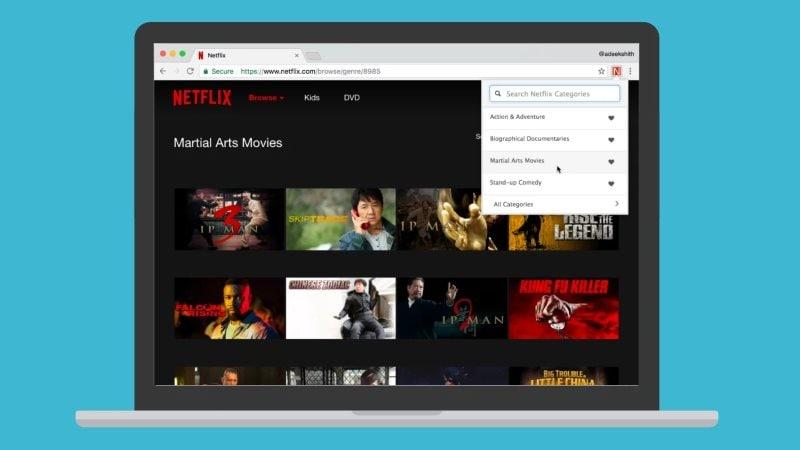 netflix categories Netflix Categories