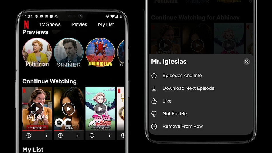 Netflix Now Allows You to Remove 'Continue Watching' Titles on Android
