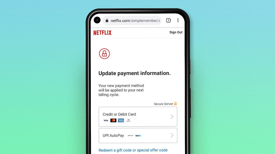 Netflix India Now Supports UPI AutoPay for Recurring Payments