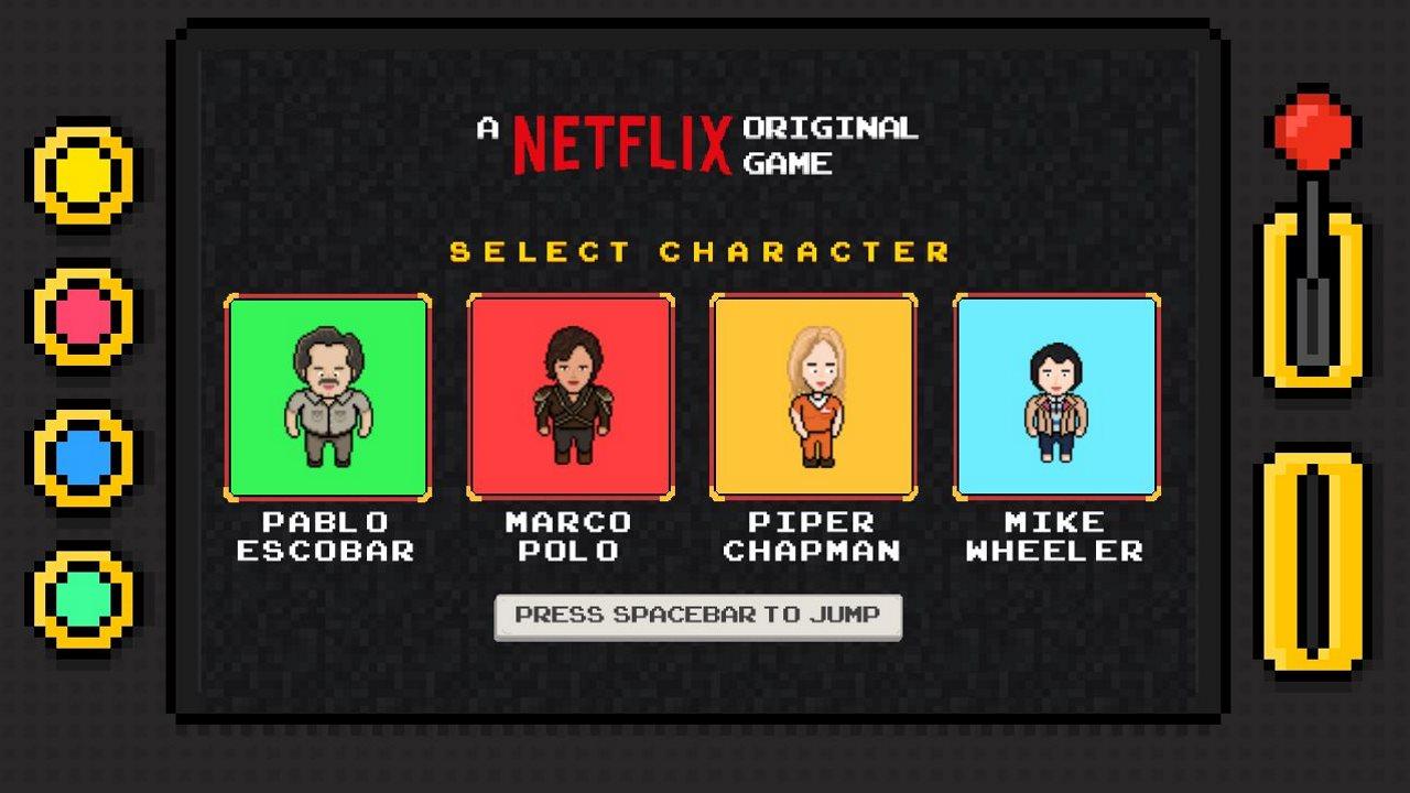 Netflix Infinite Runner Game Released, a Side-Scroller Based on Its Original Shows