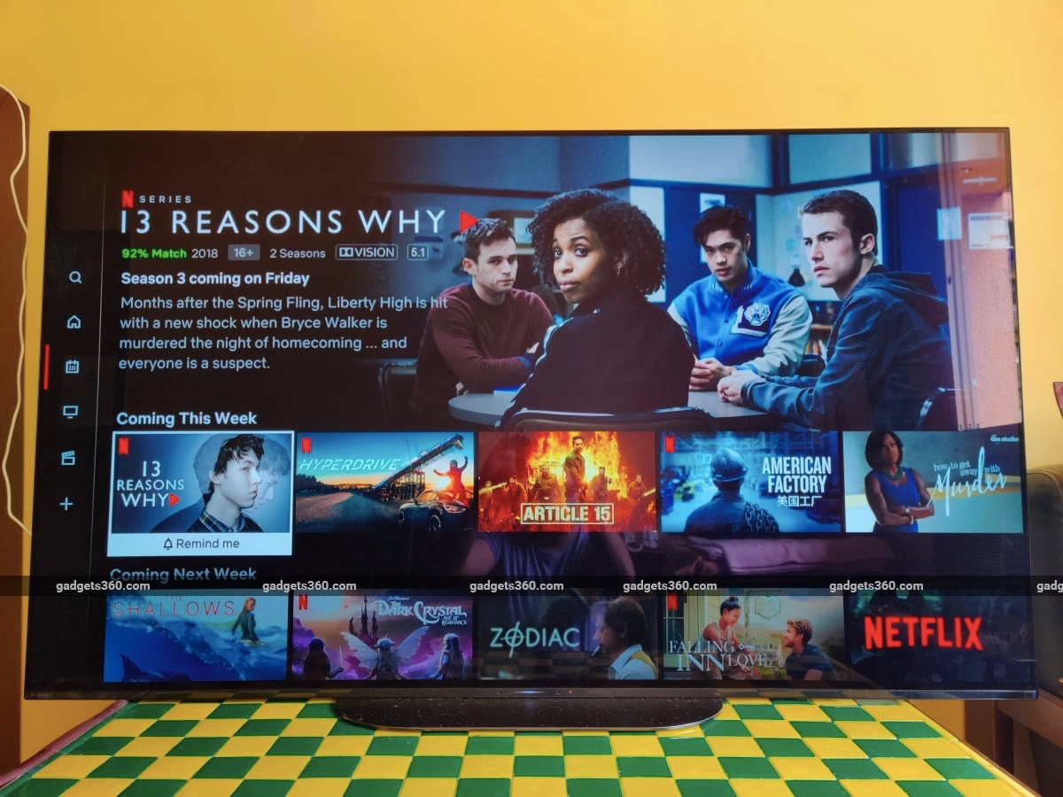 Netflix Adds a New Section for Upcoming Titles to Its TV and Streaming Device Apps