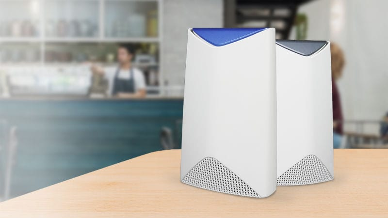 Netgear Orbi Pro Tri-Band Wi-Fi System for Small Businesses Launched in India: Price, Specifications
