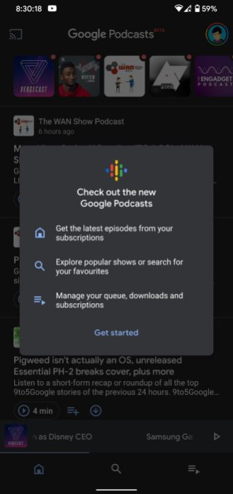 new google podcasts 9to5Google Google Podcasts