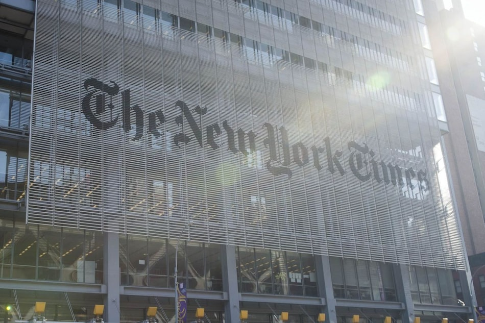 New York Times Digital NFT Article Sells for $563,000
