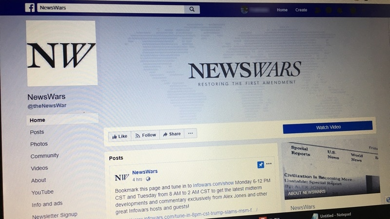 Alex Jones Banned From Facebook? His Videos Are Still There - and So Are His Followers