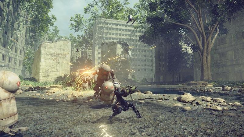 nier 2b combat nier_automata