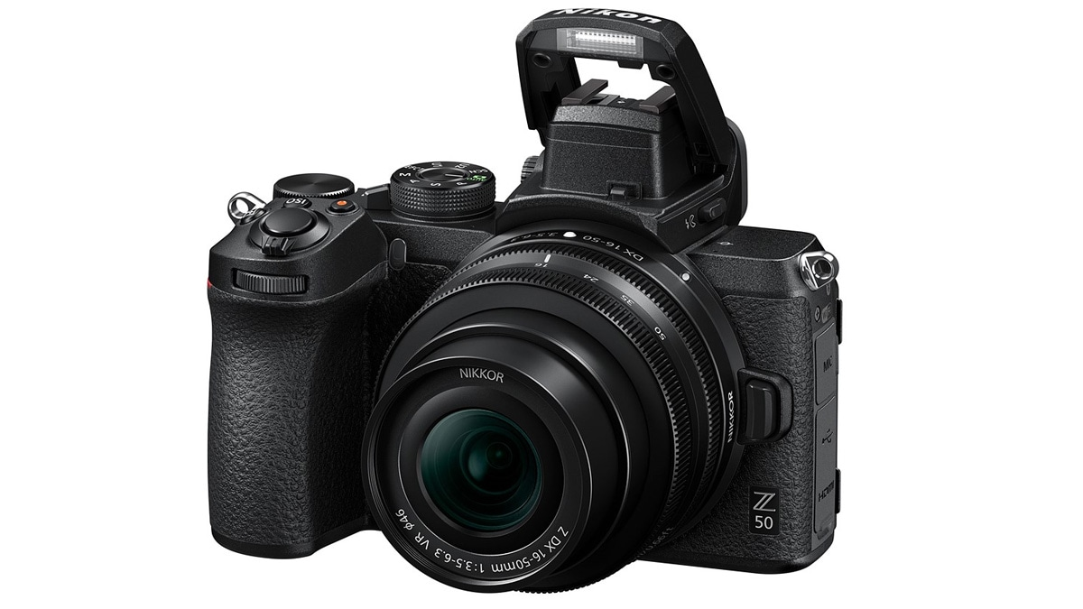 Nikon Z50 Launched as the Company's First APS-C Mirrorless Camera, Features a 20.9-Megapixel Sensor, 4K Video Recording