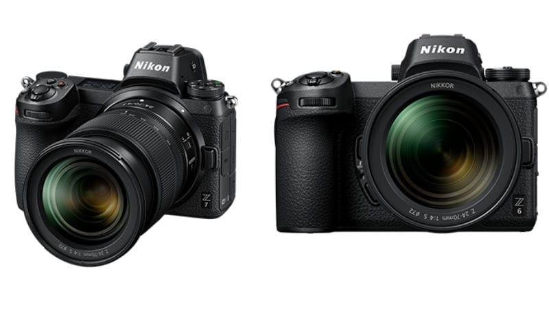 Nikon Z7, Nikon Z6 Full-Frame Mirrorless Cameras, Z Mount, Nikkor Z Lenses Launched