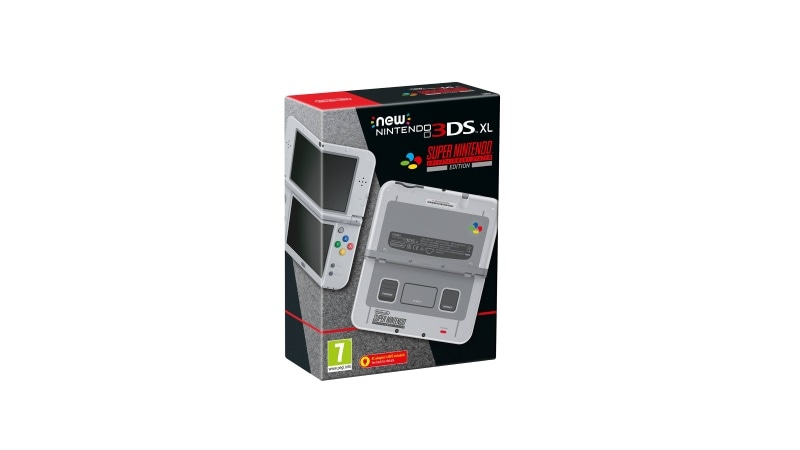 New Nintendo 3DS XL SNES Edition to Be Launched on October 13