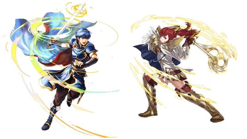 nintendo fire emblem characters