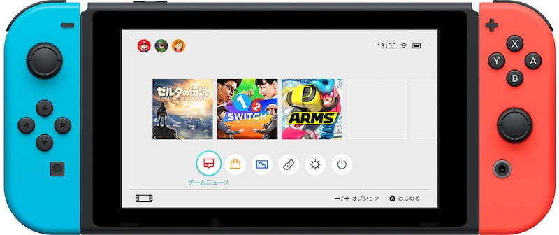 nintendo switch UI nintendo_switch_home_menu_ui