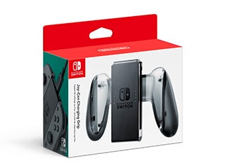 Nintendo Switch Won't Ship With a Joy-Con Charging Grip