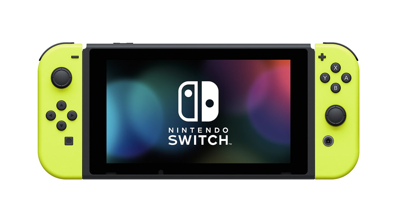 nintendo switch joy con gets new colour battery pack