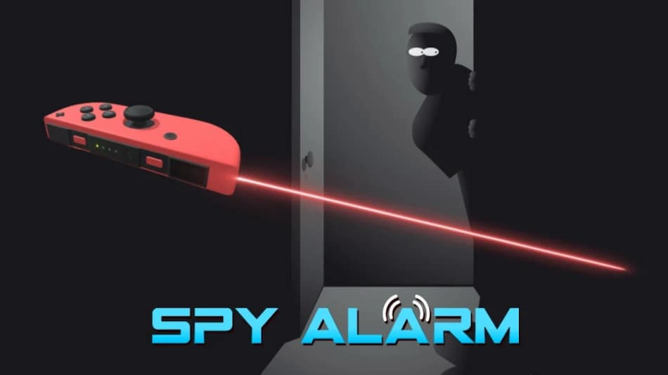 Nintendo Switch to Get Spy Alarm App That Can Turn Your Joy-Con Into Laser Tripwire