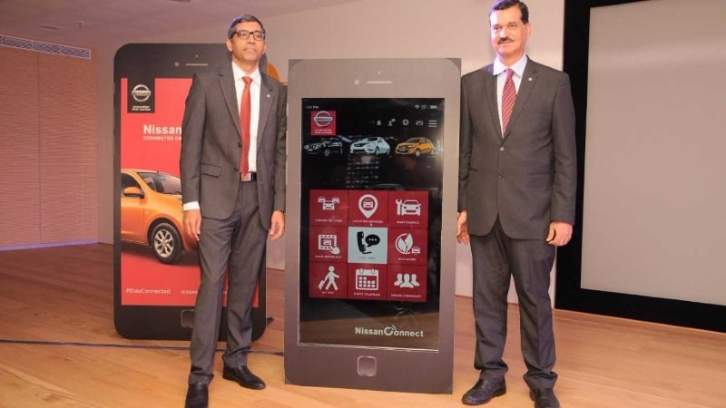 Nissan debuts in connected auto  technology