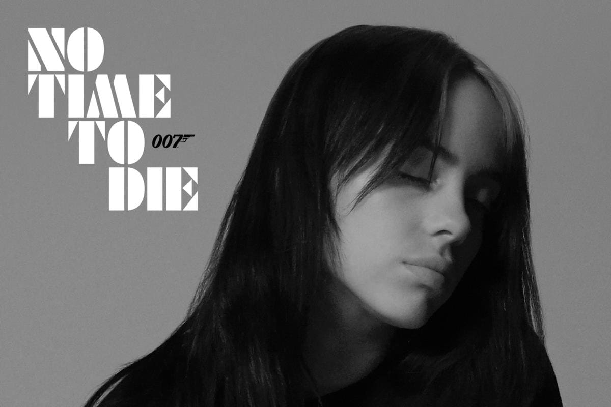 Billie Eilish Releases James Bond Theme Song 'No Time To Die' class=