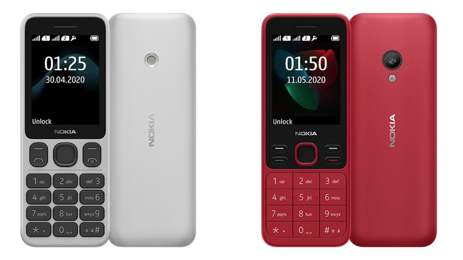 Nokia 125, Nokia 150 (2020) Feature Phones With 1,020mAh Battery, FM Radio Launched: Price, Specifications