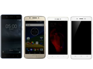 Nokia 5 vs Xiaomi Redmi Note 4 vs Vivo Y55s vs Moto G5: Price in India, Specifications Compared