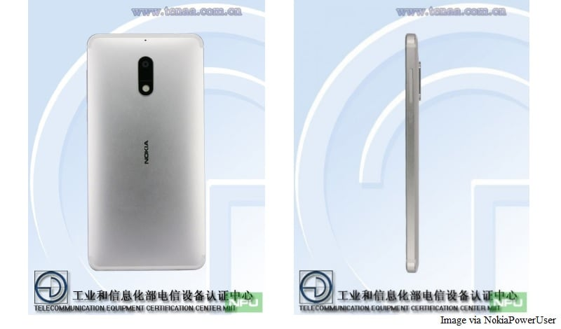 Nokia 6 Silver Colour Variant Spotted on Certification Site