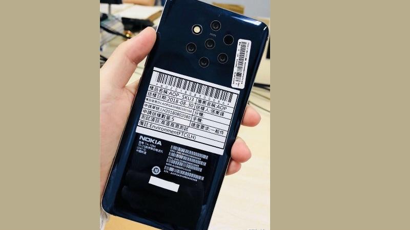 Nokia 9 में हो सकते हैं 5 रियर कैमरे, तस्वीर लीक
