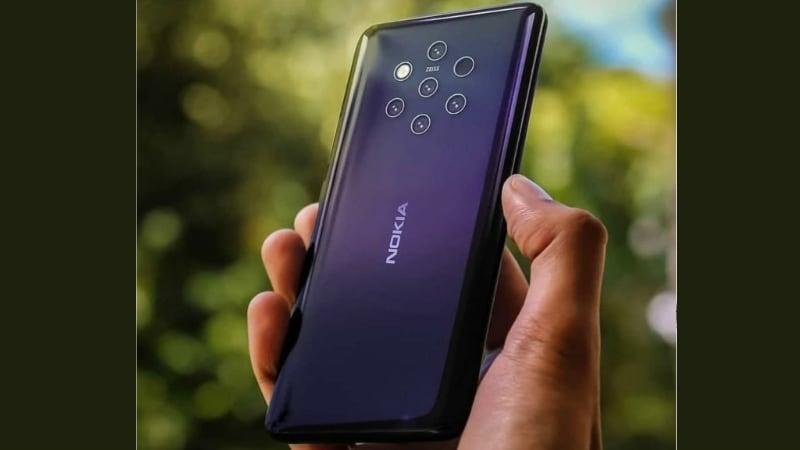 Nokia 9 के पांच रियर कैमरे और ग्लास बैकपैनल की मिली झलक