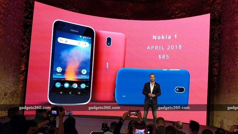 Nokia 1 Android Go Smartphone Launched at MWC 2018: Price, Specifications