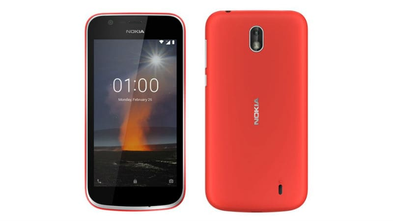 Nokia 1, an Android Go Smartphone, launched in India for Rs. 5499