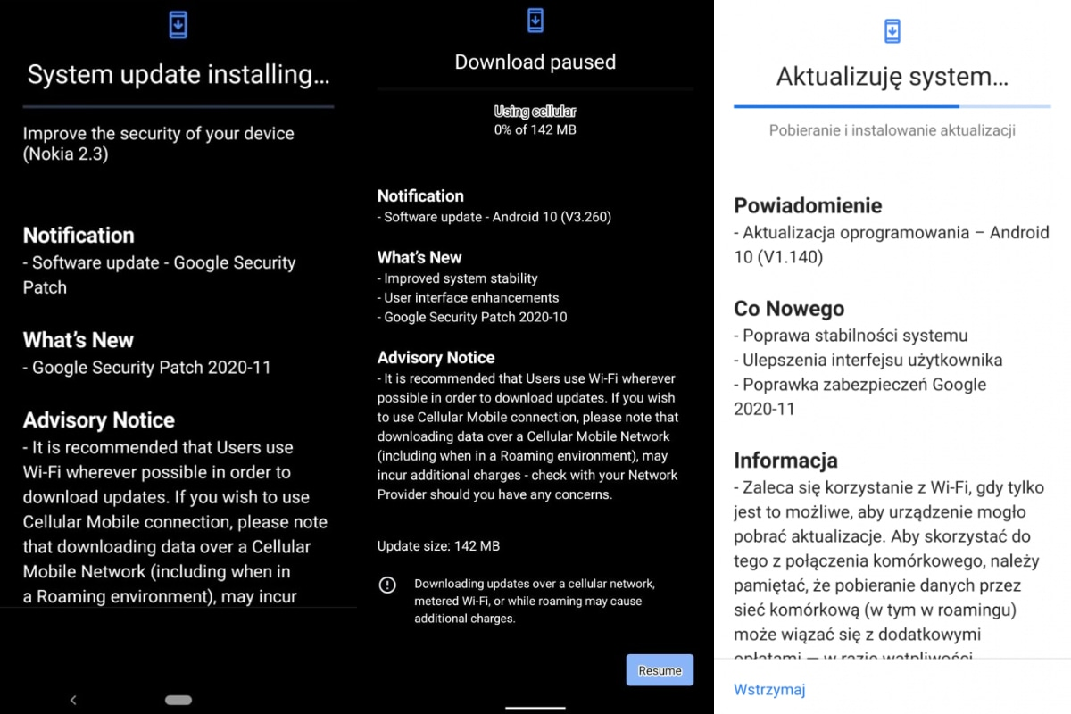 Nokia 2.3, Nokia 5.1 Plus, Nokia 8.3 5G Start to Get New Updates With Security Patches: Report
