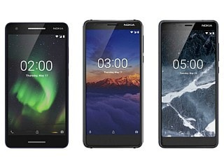 Nokia 2.1, Nokia 5.1, Nokia 3.1 3GB RAM Variant Launched in India: Price, Specifications