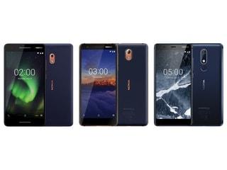 Nokia 2.1, Nokia 5.1 और Nokia 3.1 के पावरफुल वेरिएंट की बिक्री भारत में शुरू