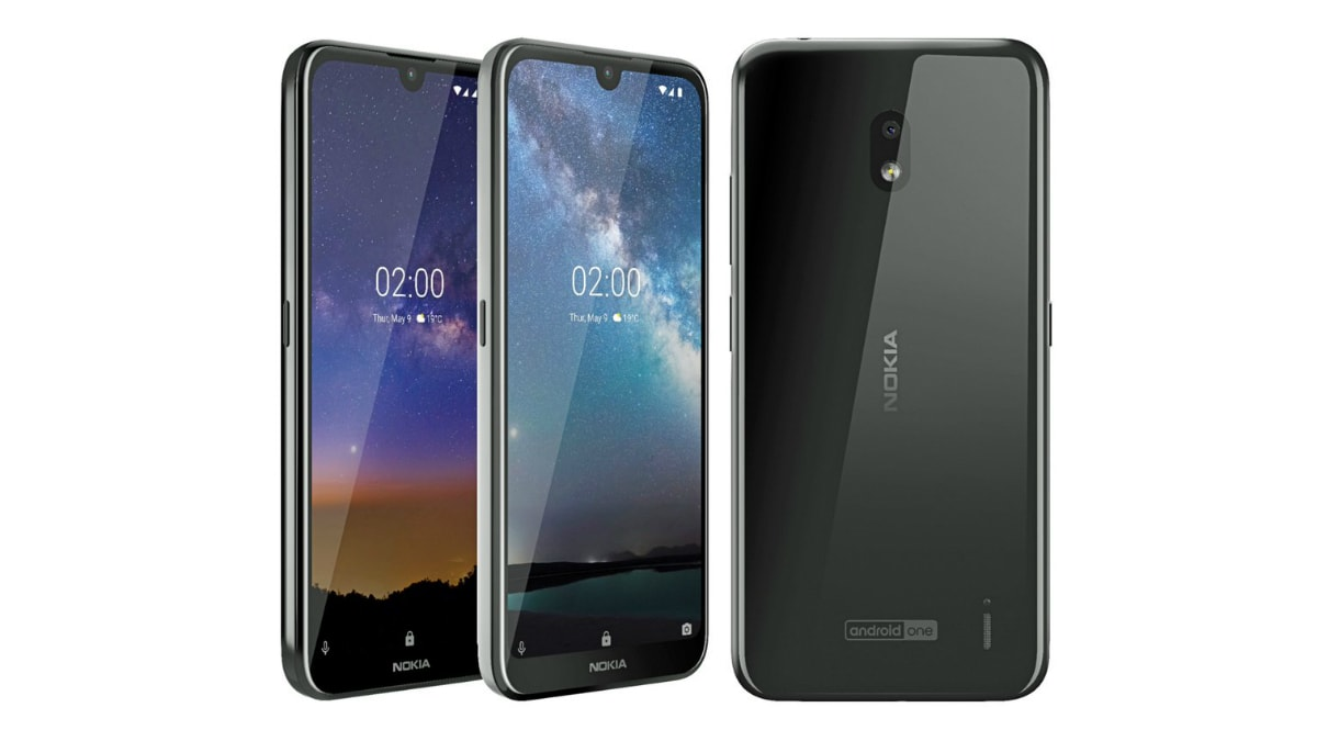 Nokia 2.2 Render Leaked Ahead of Today's Launch, Shows Off Waterdrop Display Notch, Android One Branding