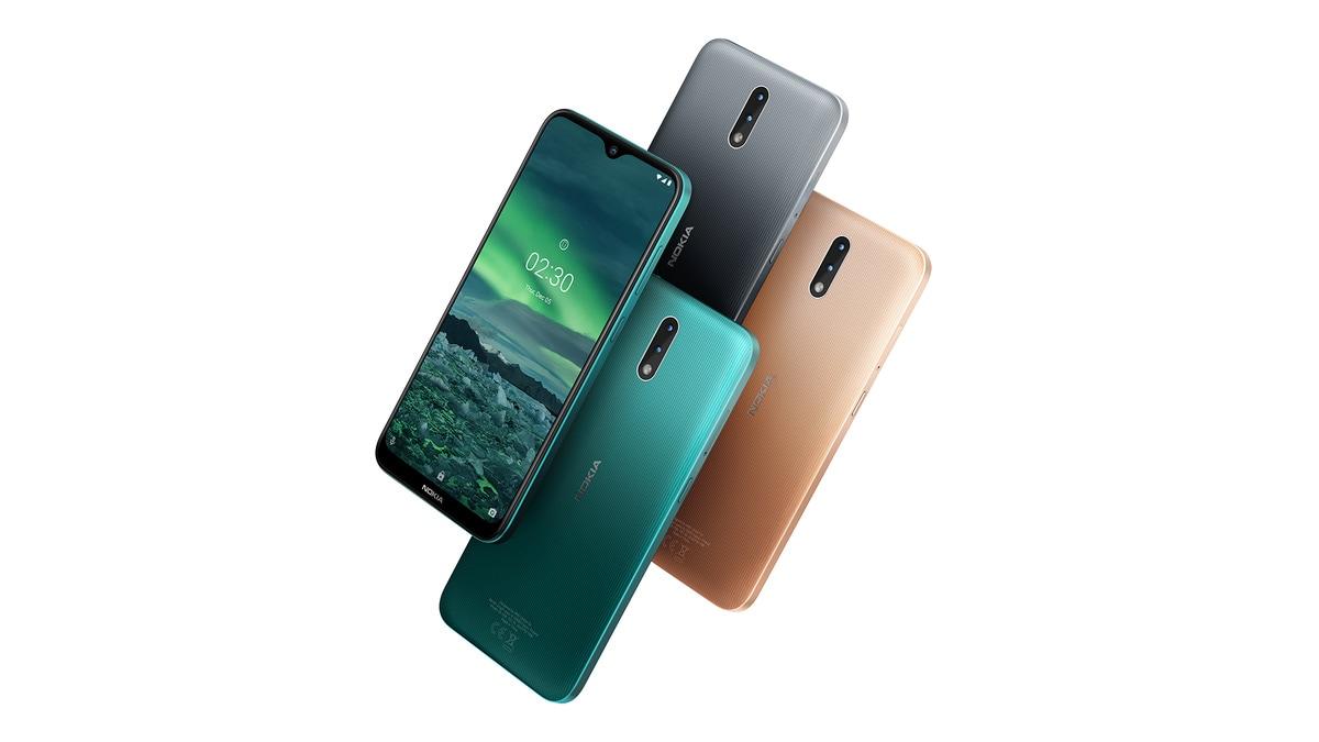 nokia 2 3 front back Nokia