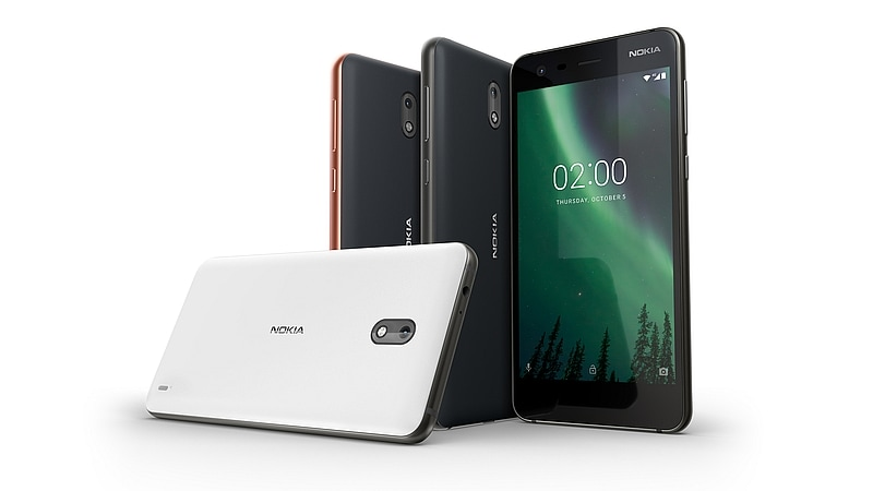 Nokia 2 Price in India Is Rs. 6,999, Goes on Sale on Friday