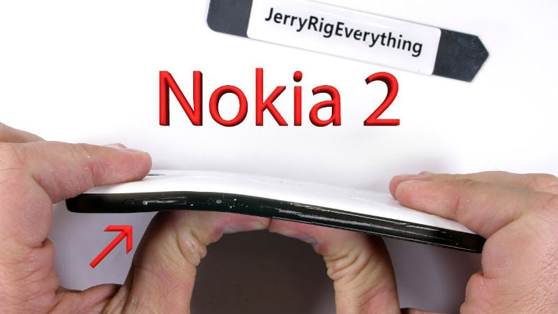 Nokia 2 Performs Fairly Well in Durability Test