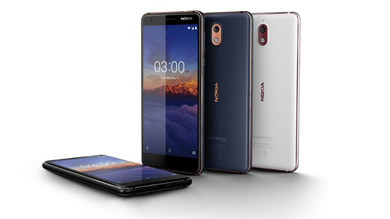 Nokia 3.1 With 18:9 Display, 2990mAh Battery Launched, Price in India Is Rs. 10,499
