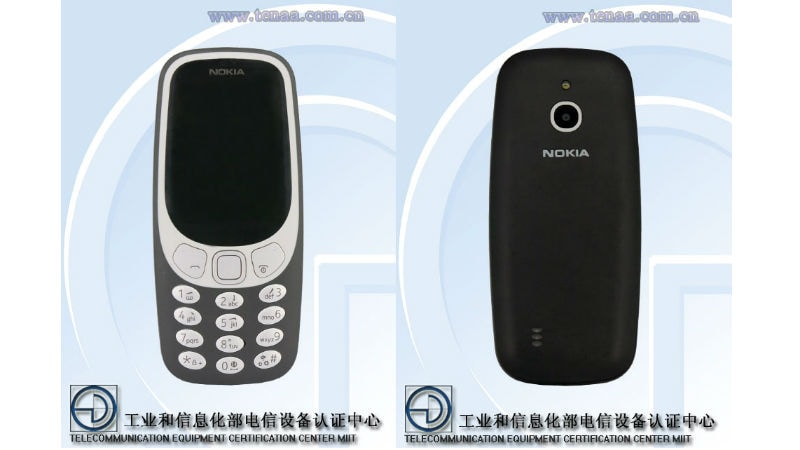 Nokia 3310 4G Specifications Surface on Updated TENAA Listing