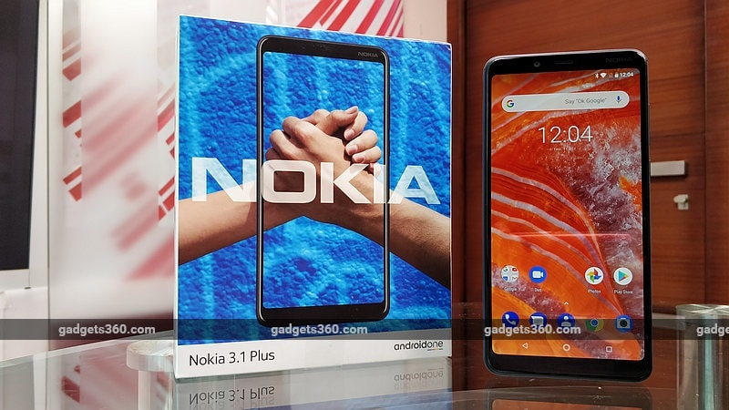 Nokia 3.1 Plus Price in India Cut, Now Starts at Rs. 9,999